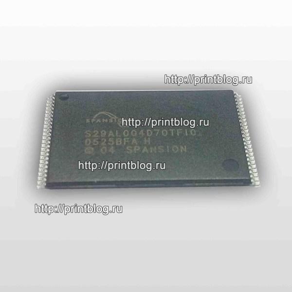 Микросхема для прошивки в Epson L800