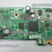 Главная плата Epson XP-323 дампы микросхем