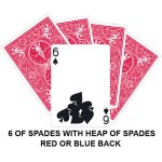 six of spades heap card
