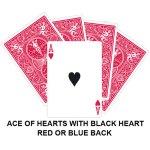Black Heart Ace Gaff Card