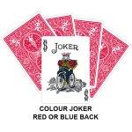 Colour Joker Gaff Card