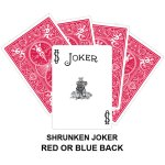 Shrunken Joker Gaff Playing Card