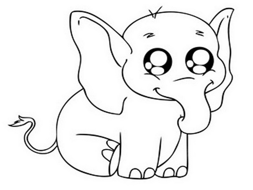 13 Baby Elephant Coloring Page To Print