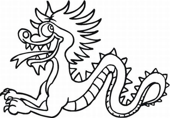 15 printable pictures of chinese dragon page print color craft