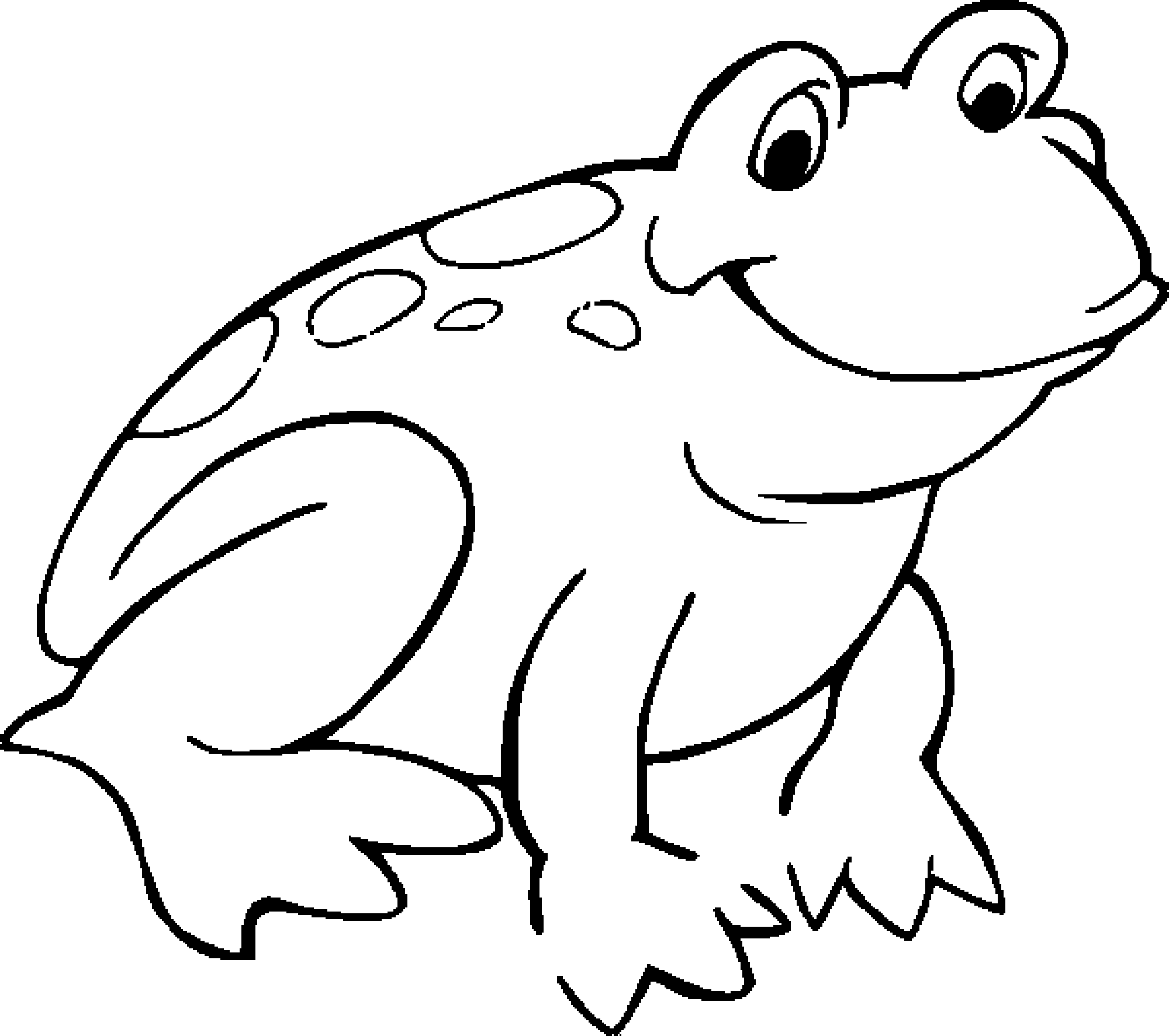 15 Frog Coloring Pages