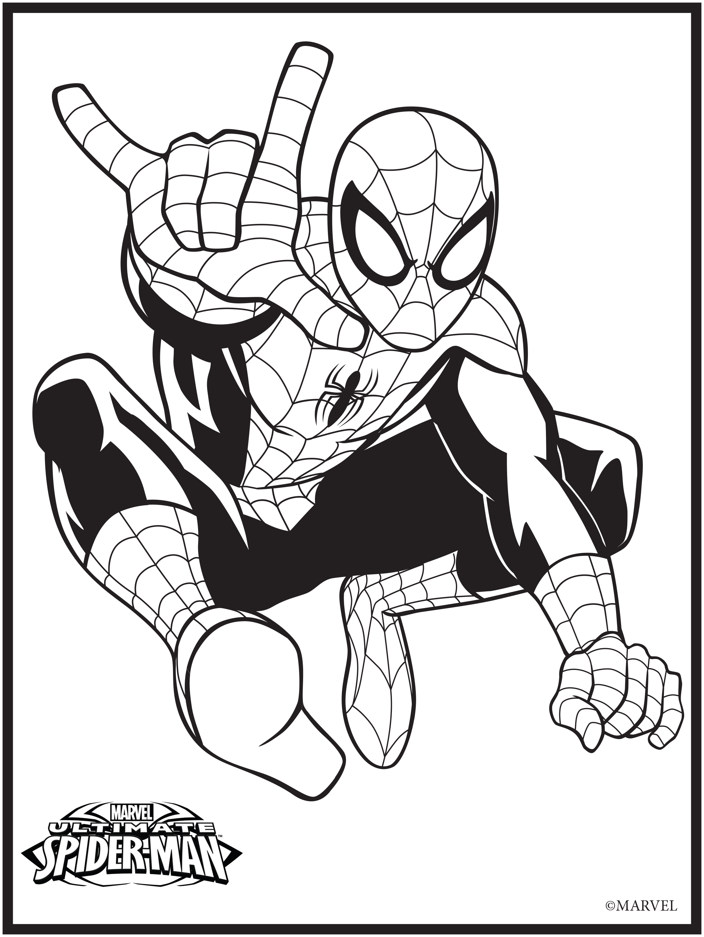 13 Marvel Coloring Page
