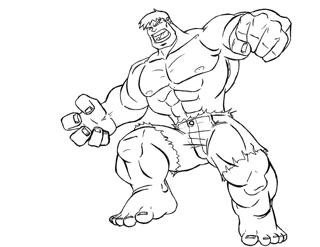 coloring pages of superhero printable coloring pages
