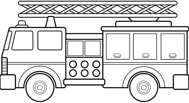 firefighter coloring pages | 394x720