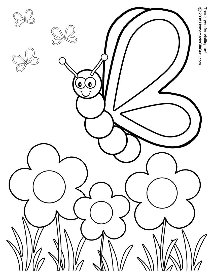 Preschool Coloring Pages Pdf Coloring Page