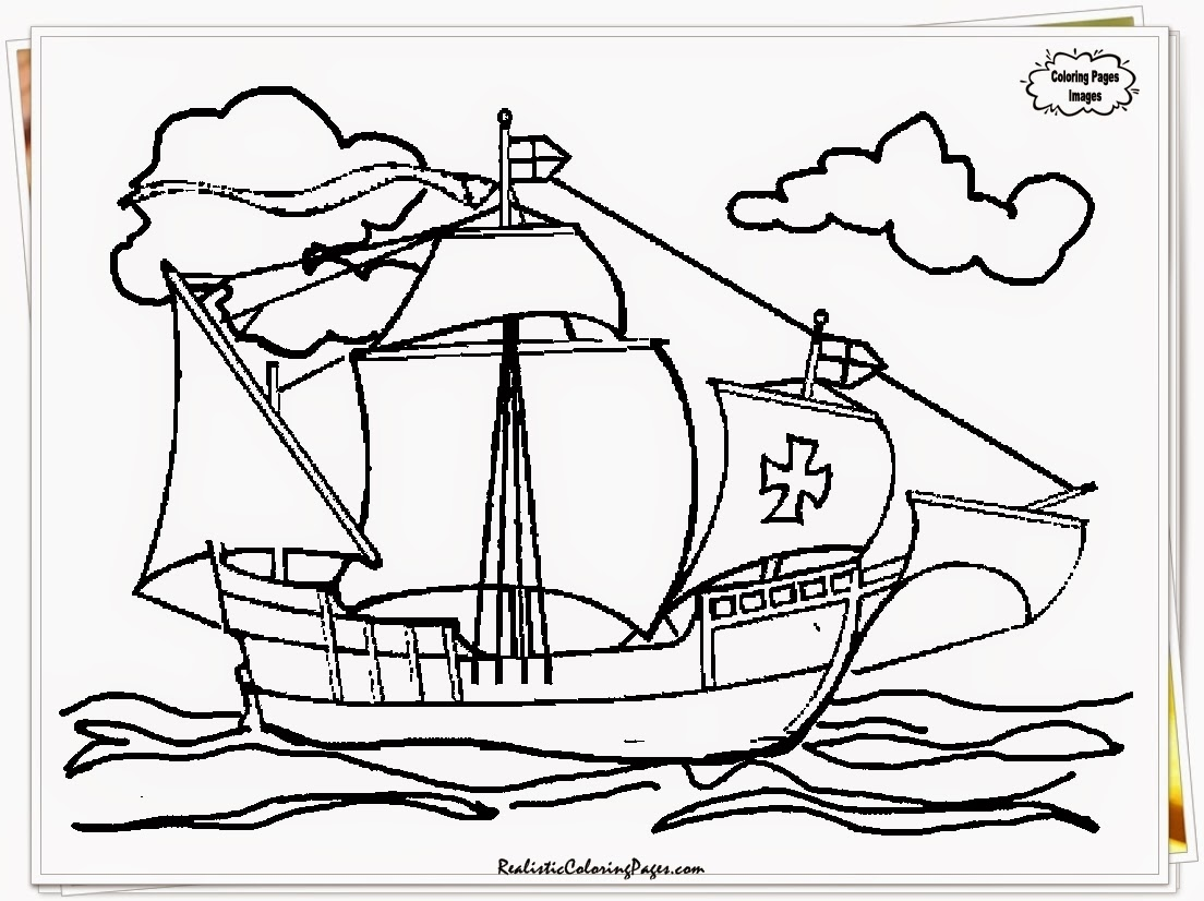 Columbus Day Worksheet Preschool