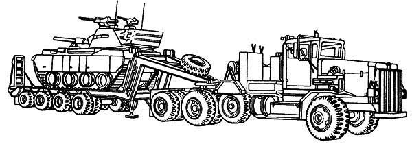 printable semi truck free coloring pages printable coloring pages