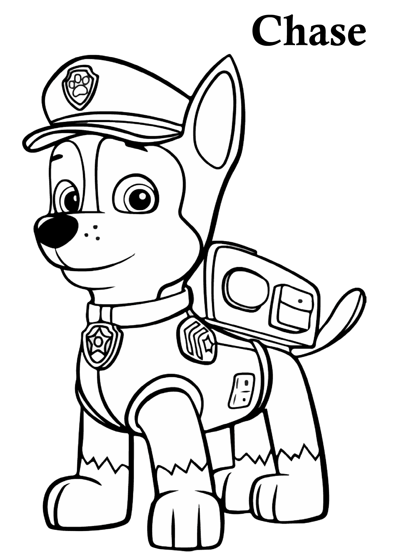 27 Paw Patrol Coloring Pages Printable