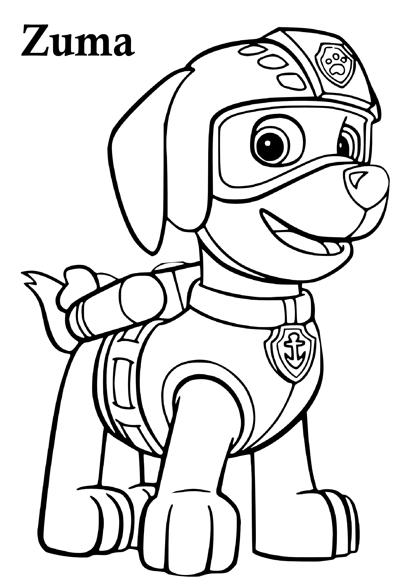 30 Paw Patrol Coloring Pages Printable