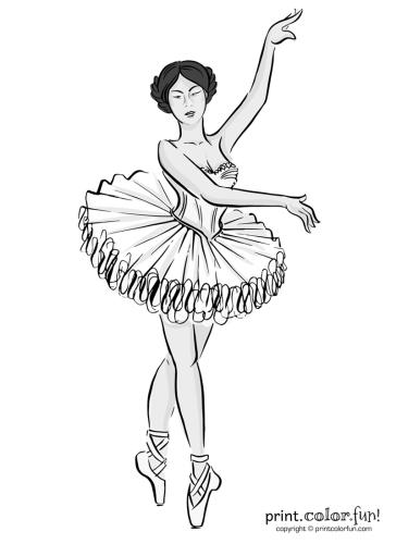 Ballet dancer in a tutu