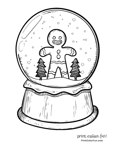 christmas-snow-globe-with-gingerbread-man
