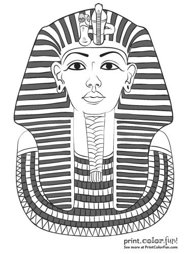 King Tut's mask