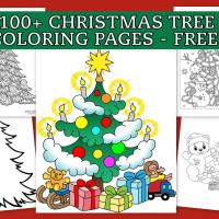 Top 100 Christmas tree coloring pages: The ultimate (free!) printable collection