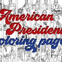 US Presidents coloring pages: Printables of the first 42 American leaders