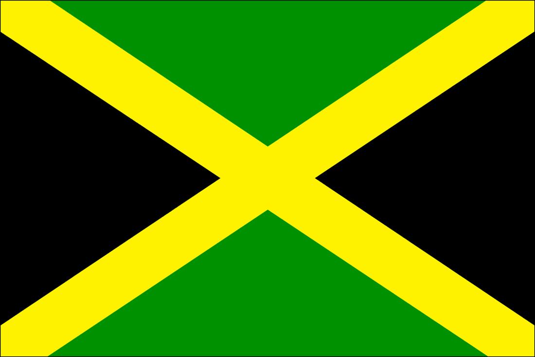 flag of jamaica coloring print fun