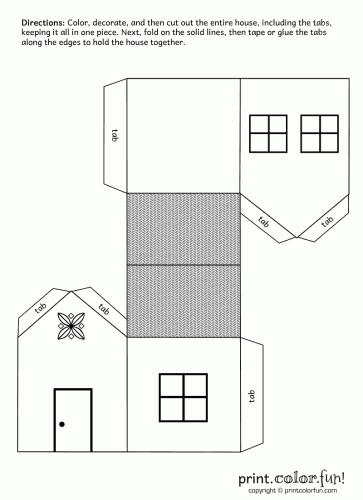 Maquetas Simple Edificios De