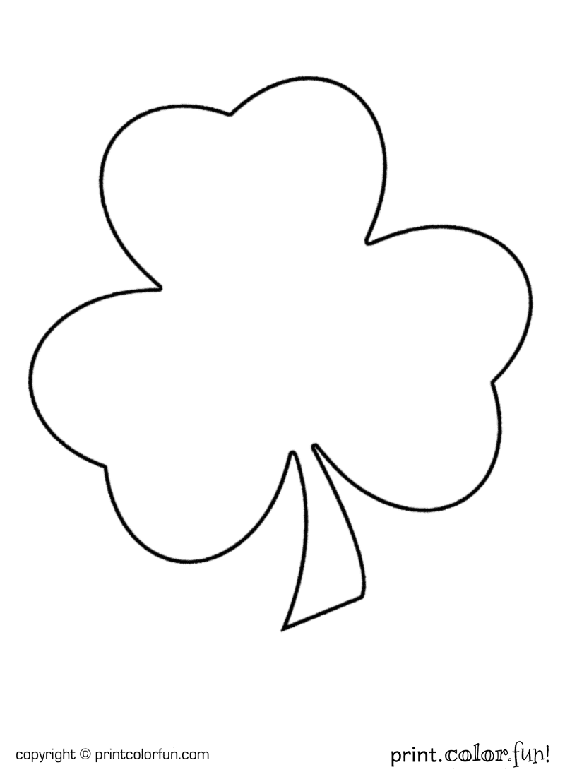 Shamrock for St Patrick's Day