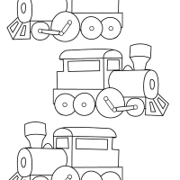 Three trains