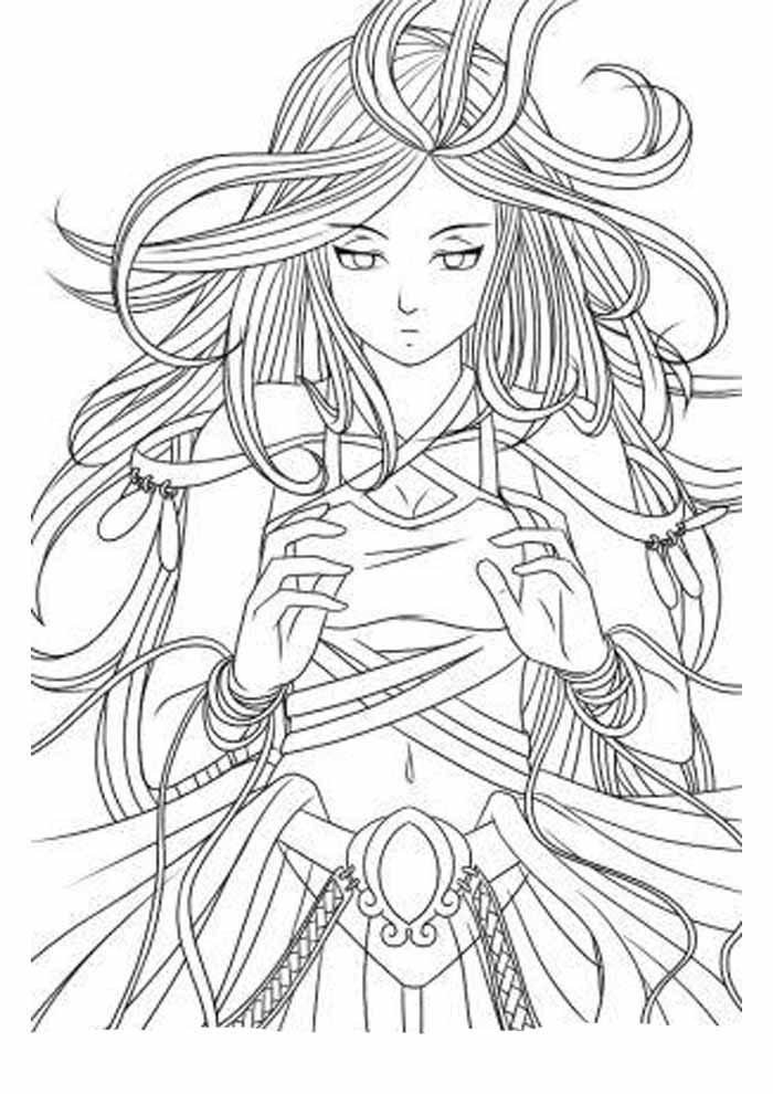 48 Anime Coloring Pages Coloring Pages