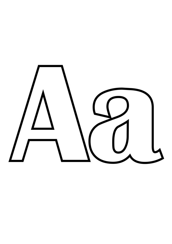 Alphabet Coloring Pages Coloring Pages