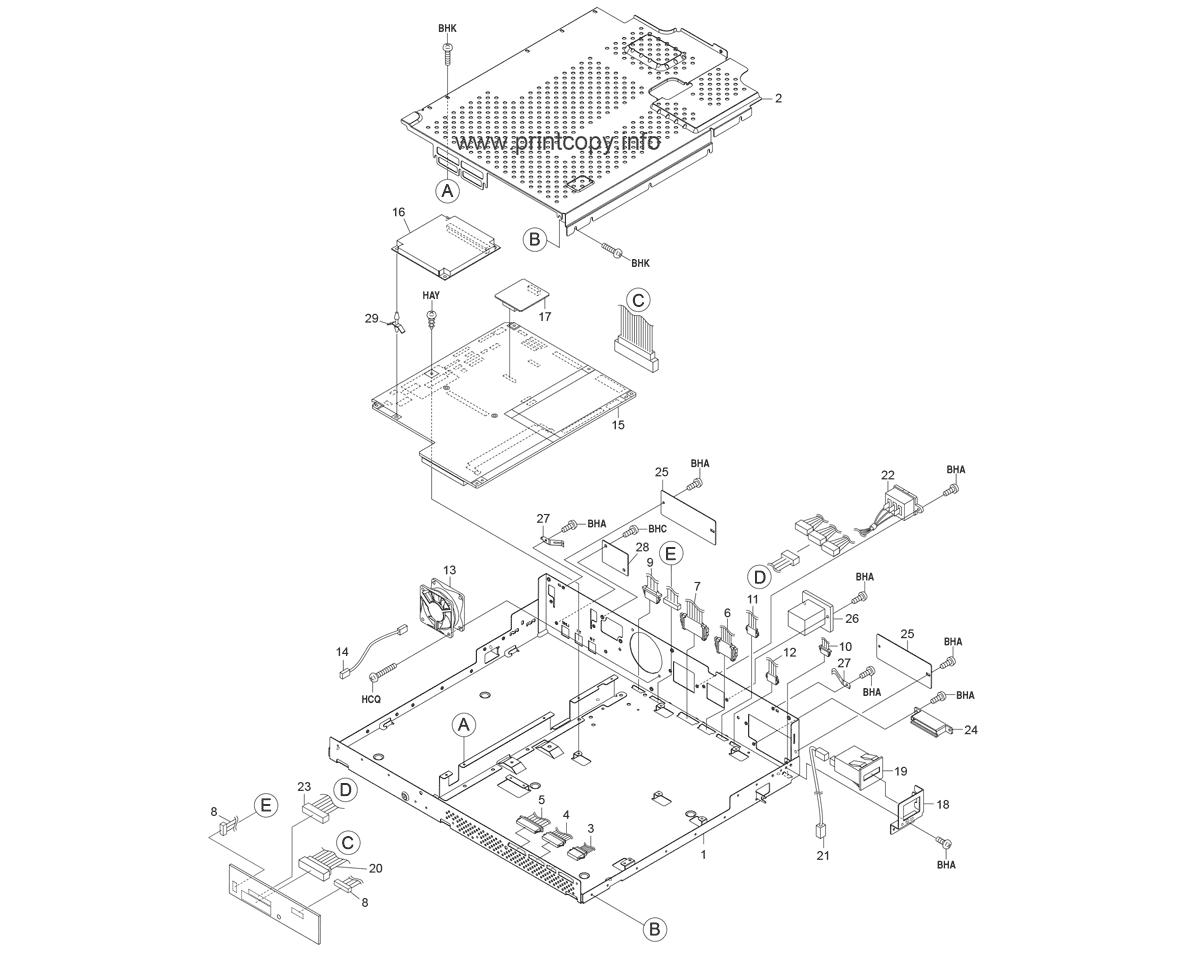 Parts catalog > kyocera > kmc830 > page 30