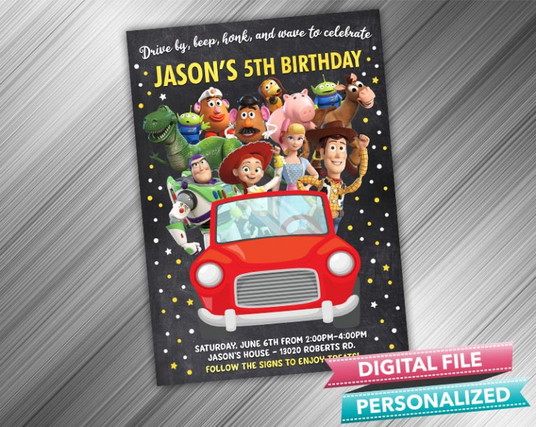 birthday invitation and printable party