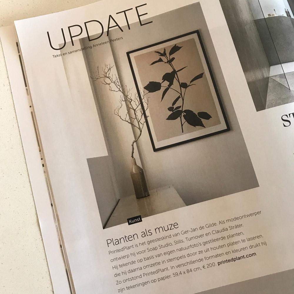 Featured in Dutch interior magazine 'Stijlvol Wonen'