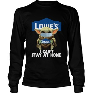 Baby Yoda Mask Hug Lowes  Long Sleeve