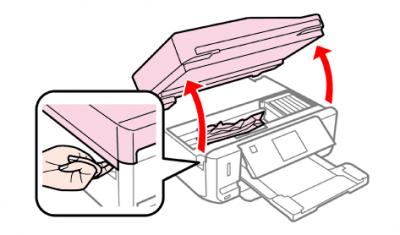 紙詰まり確認箇所