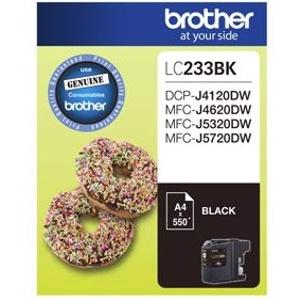 brother lc233 black ink cartridge
