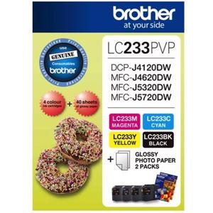 brother lc233 value pack 4 pack