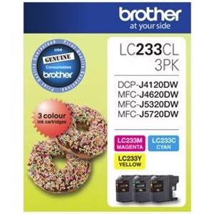 brother lc233 value pack
