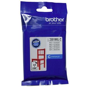 brother lc3319xl cyan ink cartridge