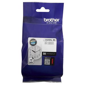 brother lc3329xl black ink cartridge