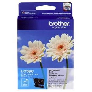 brother lc39 cyan ink cartridge