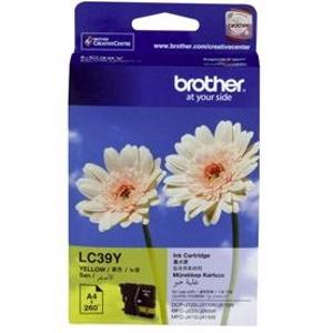 brother lc39 yellow ink cartridge