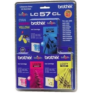 brother lc57 value pack
