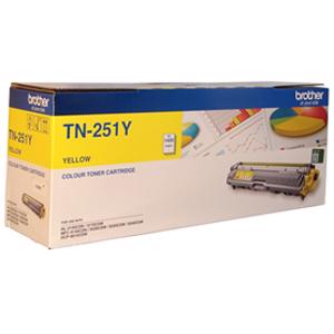brother tn251 yellow toner cartridge