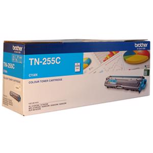 brother tn255 cyan toner cartridge