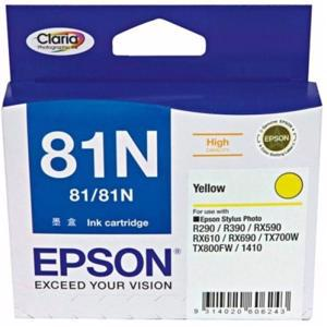 epson 81n yellow ink cartridge