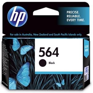 hp 564 black printer ink
