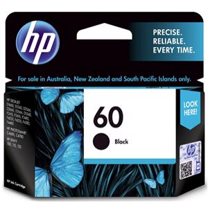 hp 60 black printer ink