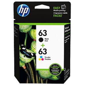 hp 63 value pack printer ink