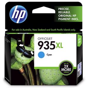 hp 935xl cyan printer ink