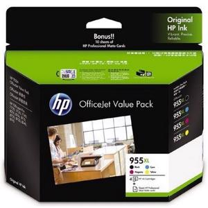 hp 955xl value pack printer ink