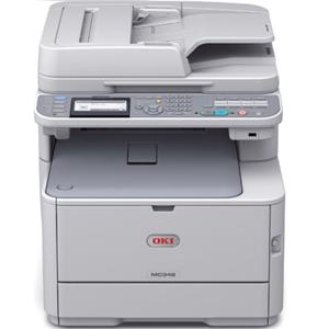 oki mc342dnw colour laser printer